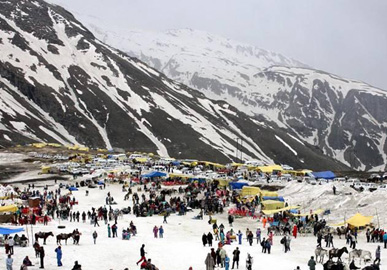 Rohtang Pass in manali